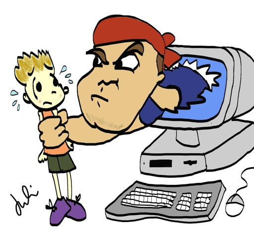 STOP CYBER-BULLYING: .