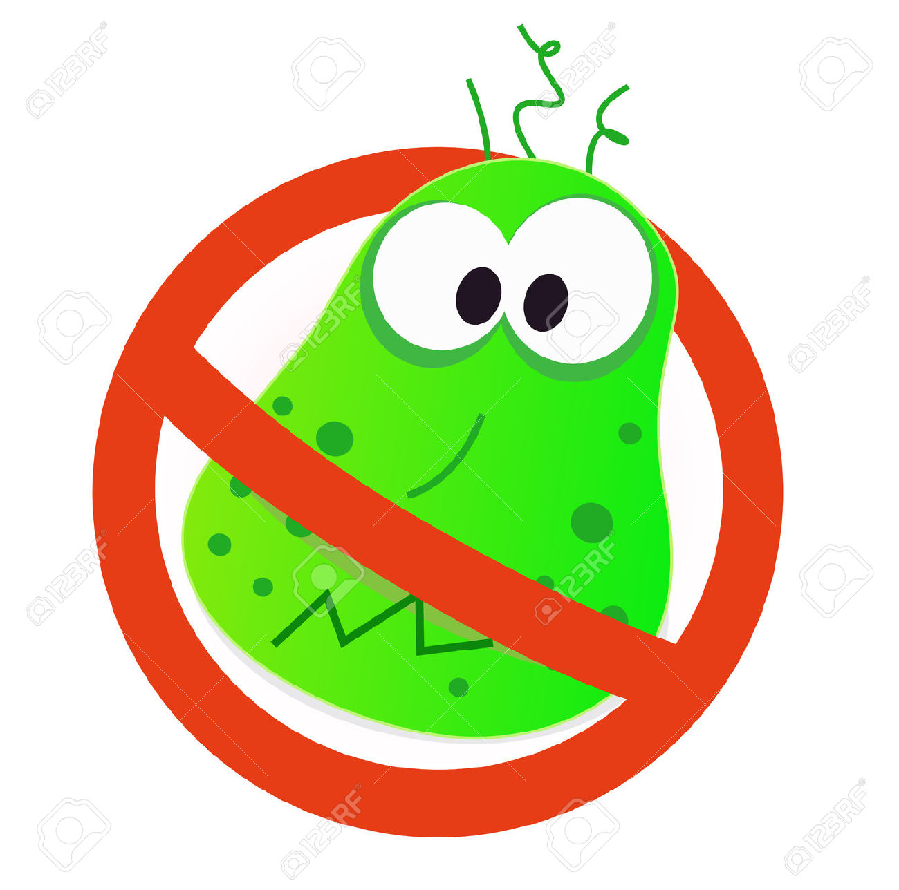 Stop Germs Vaccine Clipart