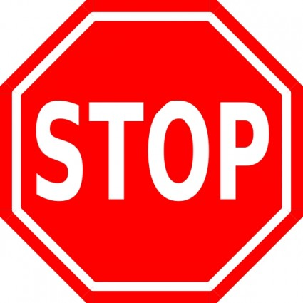Stop Sign Clip Art Free Vector 37 93kb