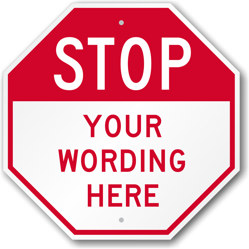 Stop Sign Clipart - clipartall