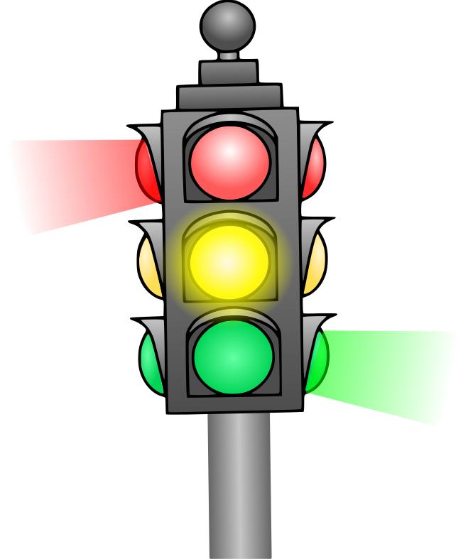 Stop Light Clipart - Stoplight Clipart