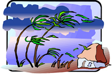 Storm Clipart Tropical Storm #1