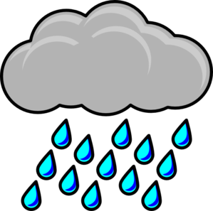 Rain Cloud Clip Art