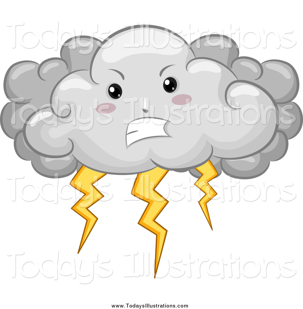 Thunderstorm clipart storm cloud #1