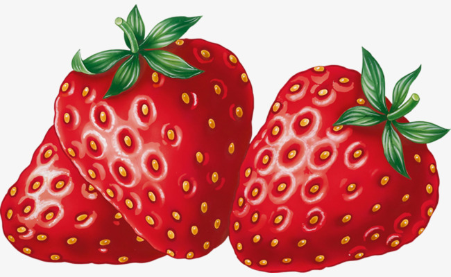 bright red strawberries, Fruit, Strawberry, Red PNG Image and Clipart