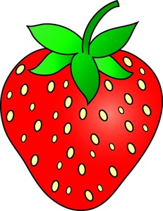 Free Strawberry Clipart #1