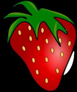 Red Delicious Strawberry Clip Art