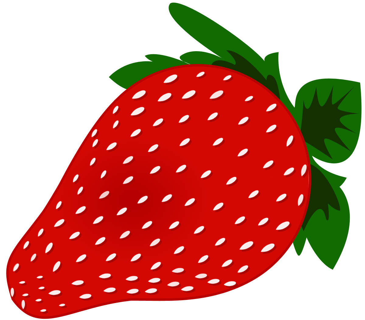 Word Strawberry Clipart #1