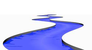 Stream River Isolated - Stream Clipart