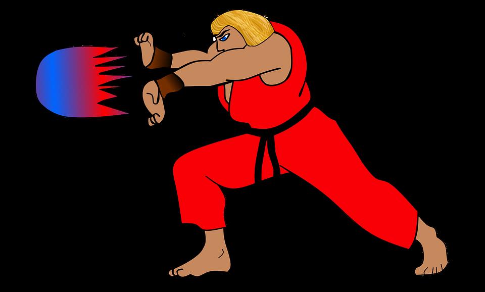 street fighter kavga dövüş sanatları fireball büyü