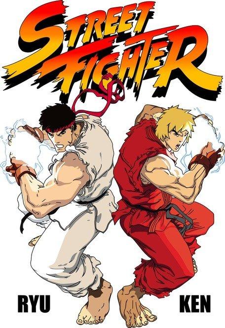 Street Fighter vektör kaynak dosyaları