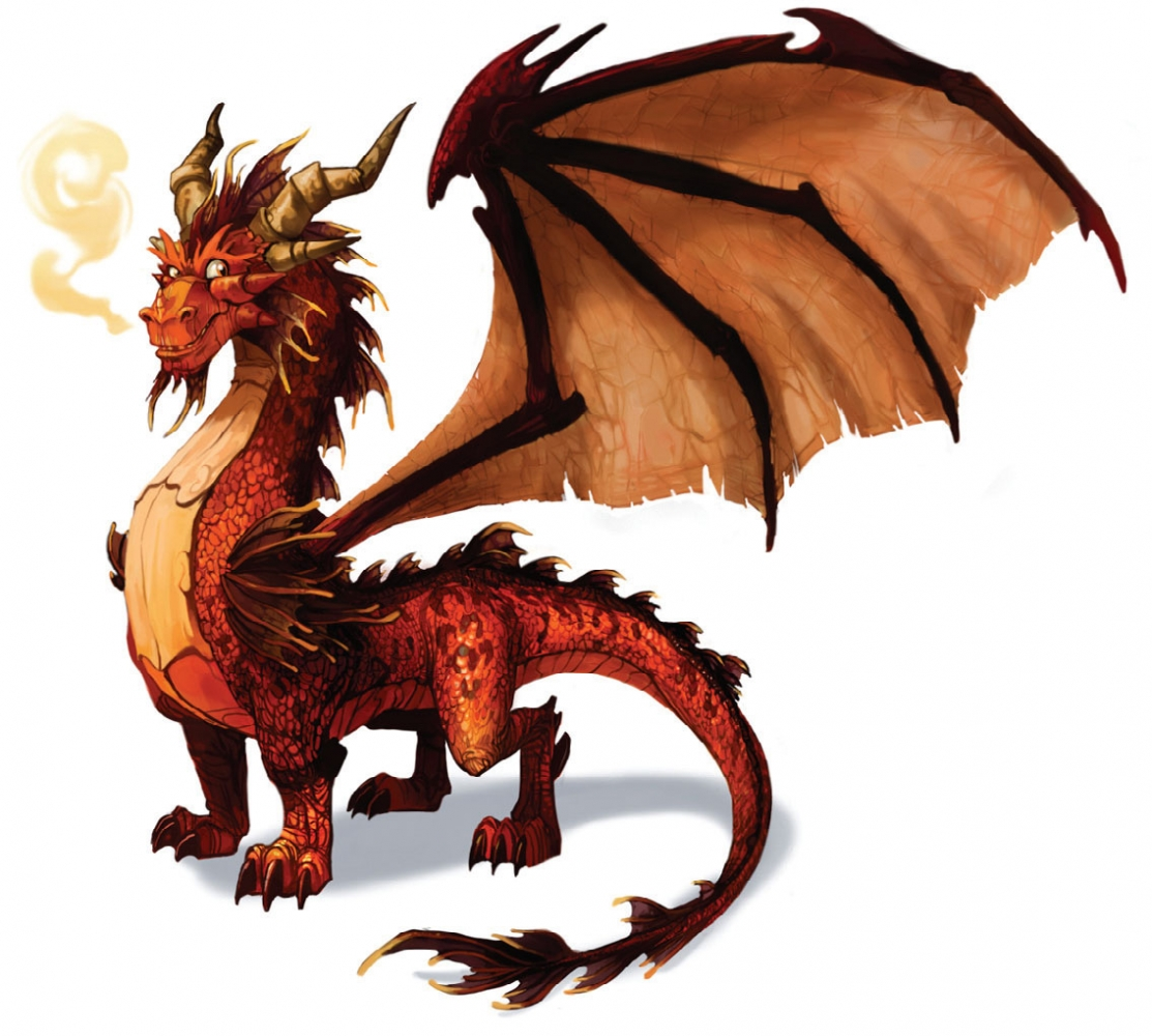 Stretch Cool Dragon Clipart