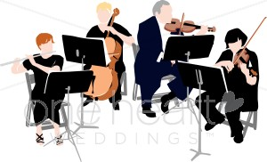 String Orchestra Clipart