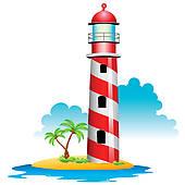 Striped Lighthouse u0026middot; Lighthouse
