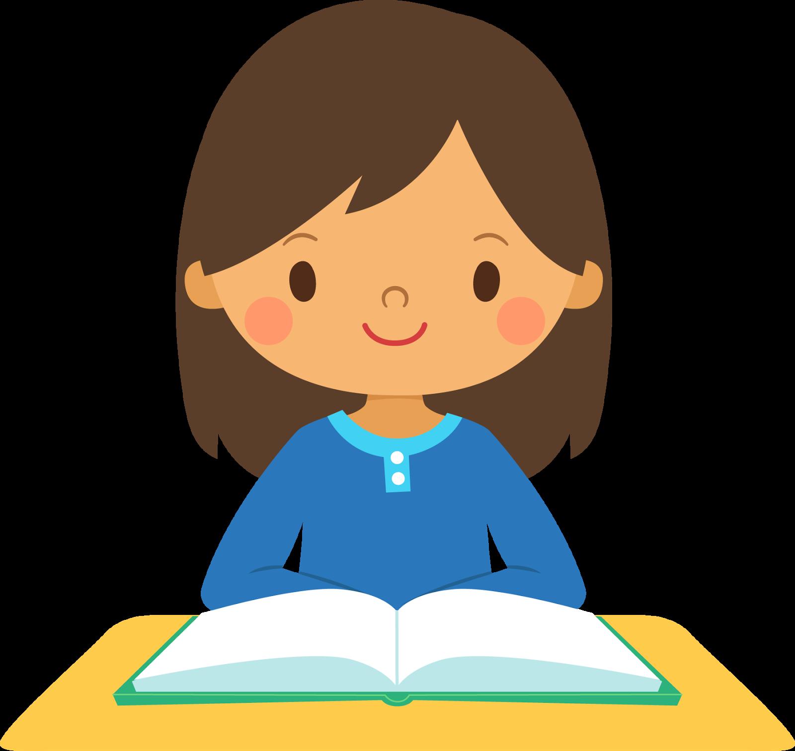 Little Girl clipart student #1