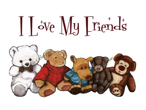 Stuffed Animals, Teddy Bears, .