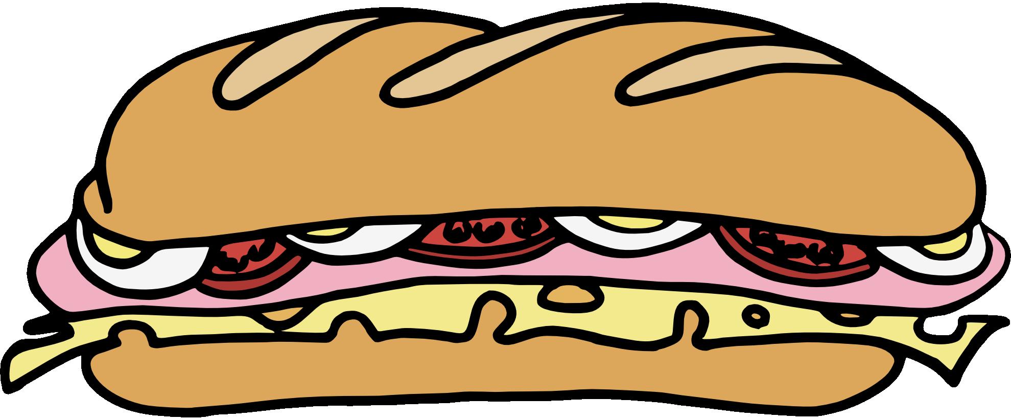 submarine sandwich. Sandwich clip art free clipart .