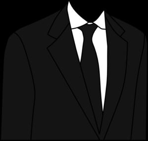 Black Suit Clip Art