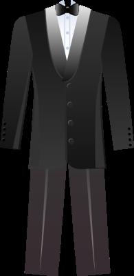 Groom Suit Clipart #1