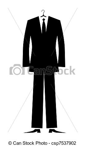 Manu0027s Suit For Your Design Vector