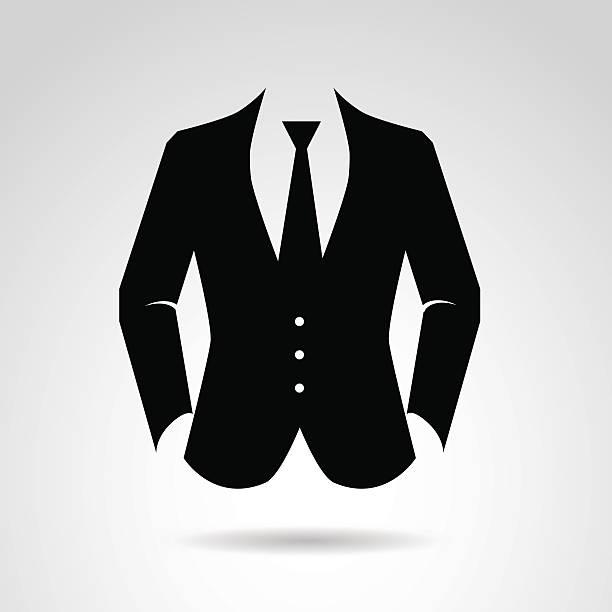 Suit clipart vector #3