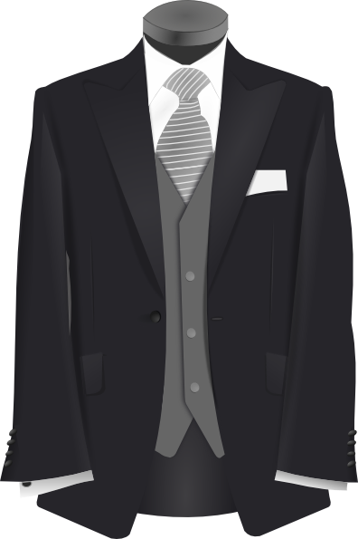 Wedding Suit Clip Art At Clker Hdclipartall.com - Vector Clip Art Online, Royalty Free U0026  Public Domain