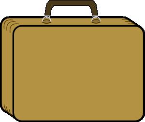 suitcase clipart