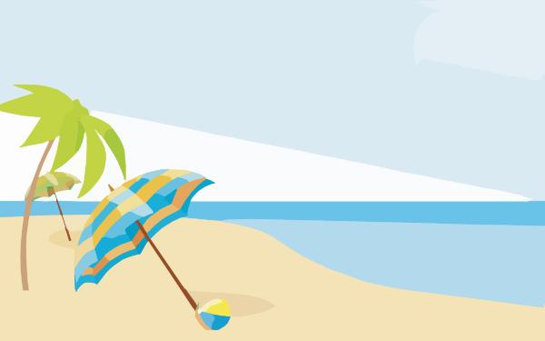 Summer Beach Wallpapers X Clip Art At Clker Com Vector Clip Art