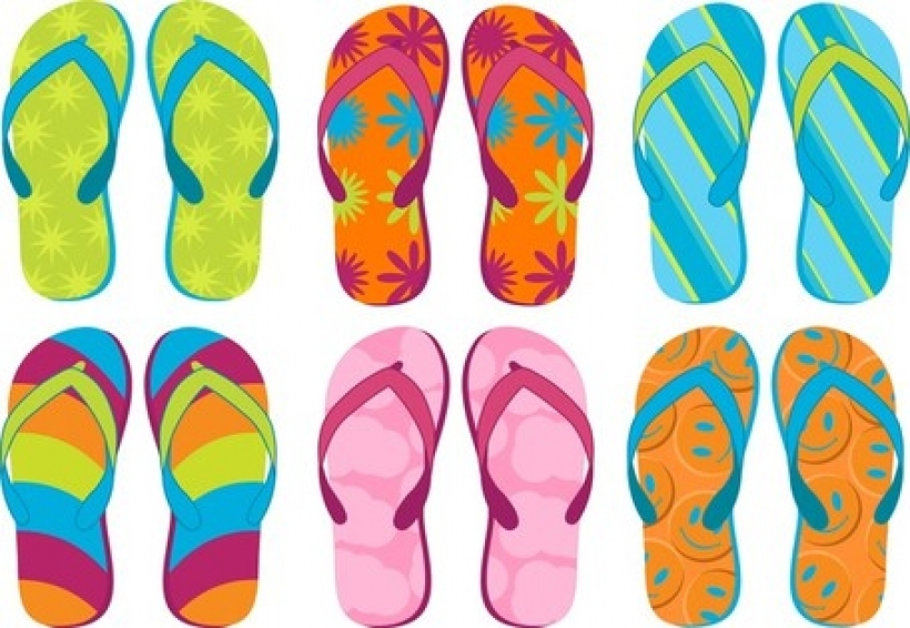 summer sandals 02 vector files clipart with summer slippers clipart summer slippers clipart