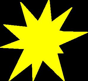 Sun Burst Clip Art