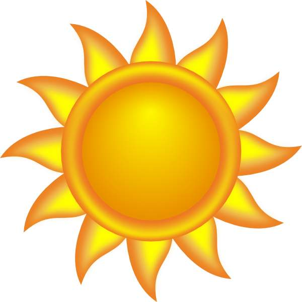 Sun Clip Art - clipartall