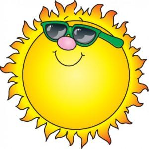 Sun Talking Clipart
