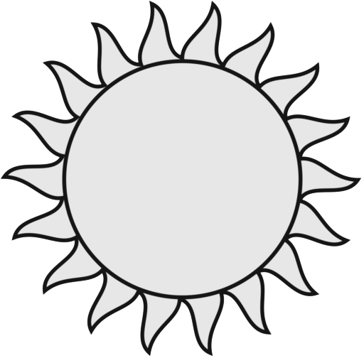 Sun With Sunglasses Clipart Black And White Clipart Panda Free