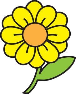 Sunflower clip art free vector clipartcow