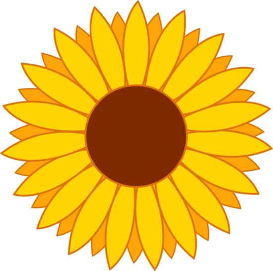 sunflower clip art   Happy Bright Yellow Sun Flower
