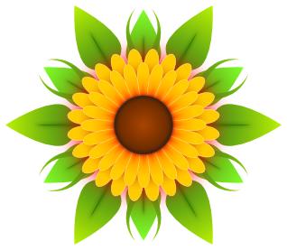 Sunflower clipart 2 clipartion com