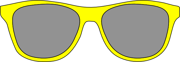 Sunglasses clipart cartoon #1