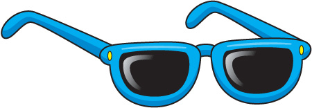 Sunglasses clipart kid sunglass #2