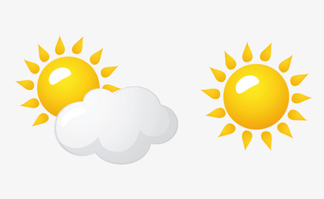 cloudy sunny, Weather Forecast, Cloudy Weather, Sunny Day PNG Image and  Clipart
