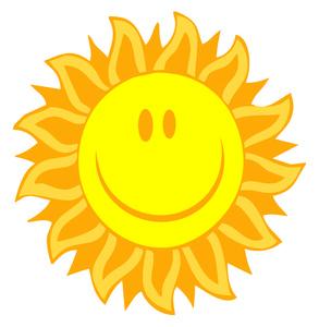 Happy Sun Clipart