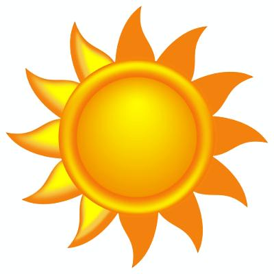 Sunny Free Clipart #1