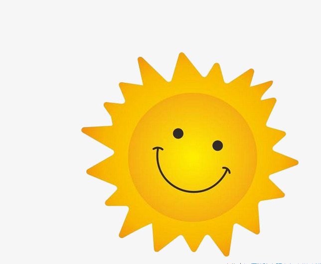 sunny smile, Smile Clipart, Free Buckle Material, Png PNG Image and Clipart