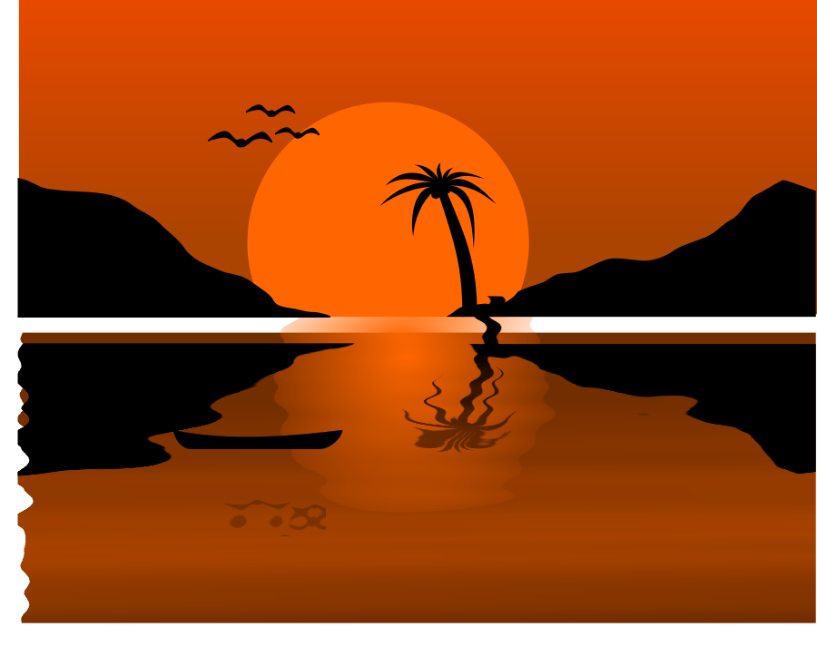 Sunset cliparts
