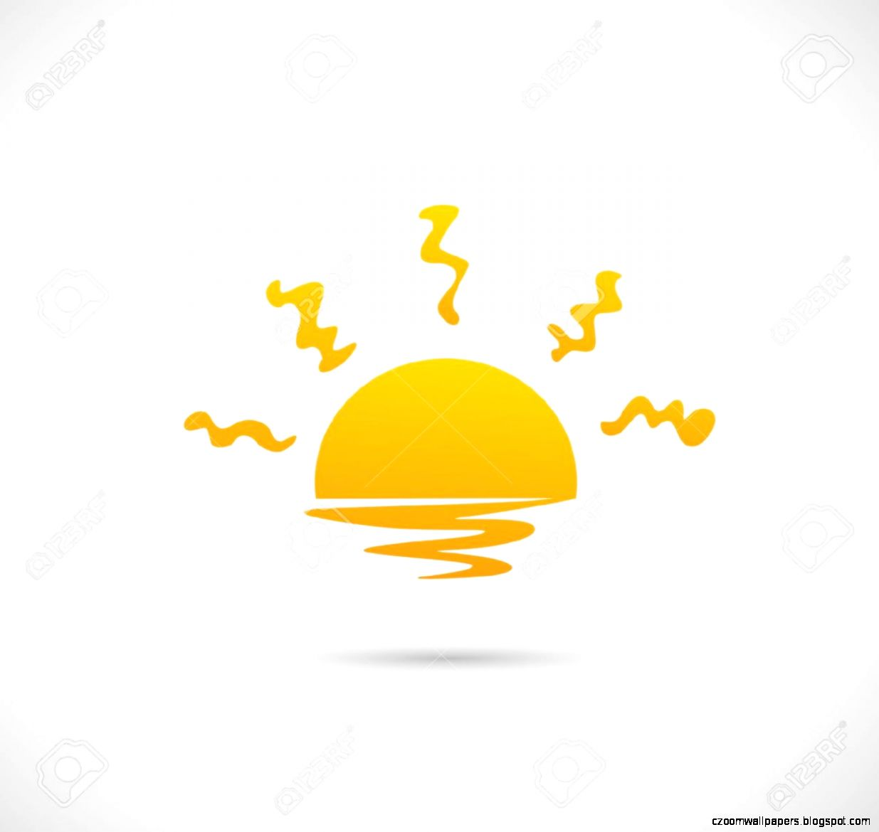 Sunset Stock Vector Illustration And Royalty Free Sunset Clipart