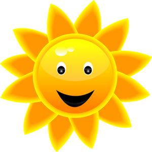 Sunshine Clipart Image Happy