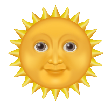 Sunshine free to use clipart