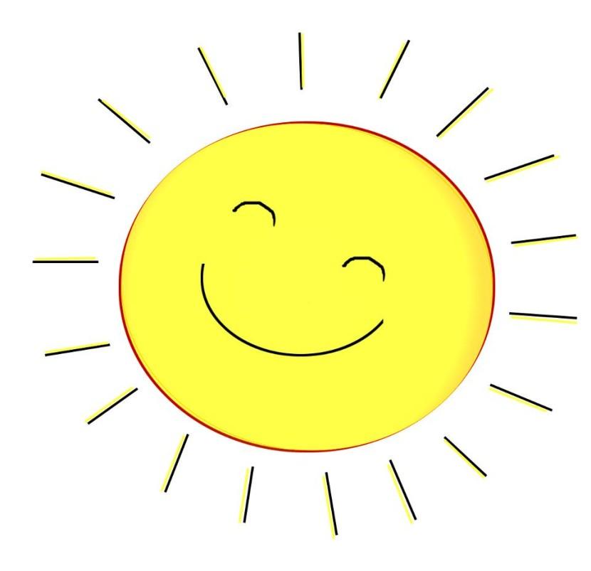 Sunshine sun clip art black a - Sun Clipart