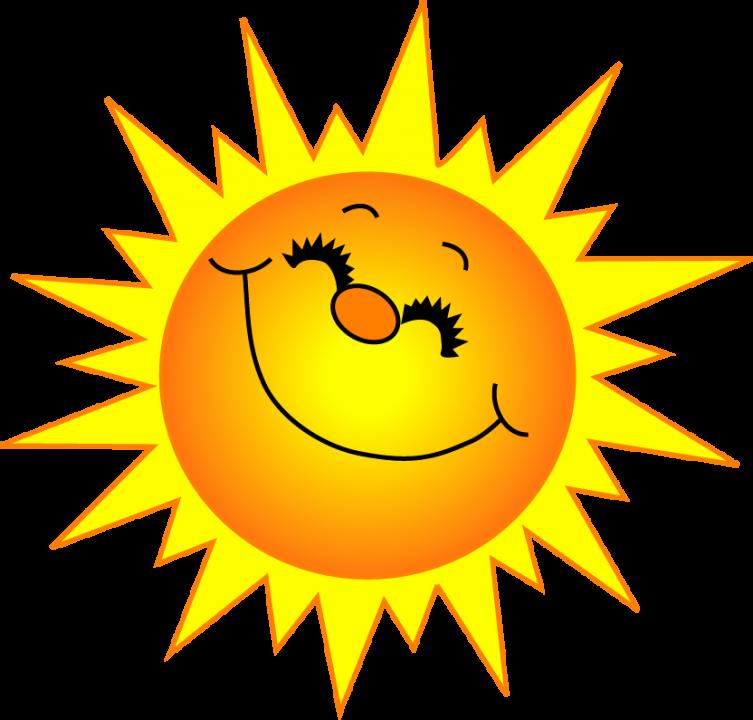 Sunshine sun clipart black an - Sun Clipart
