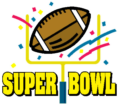 Free Super Bowl Cliparts, Sup - Super Bowl Clipart