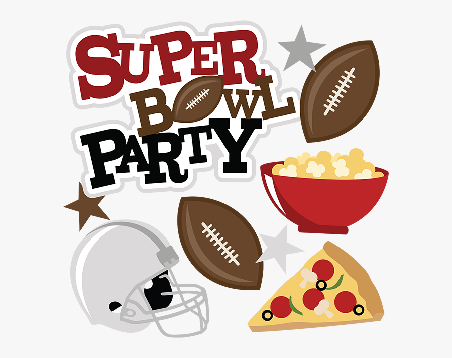 Super Bowl Party - Super Bowl Party Png , Free Transparent Clipart Hdclipartall.com